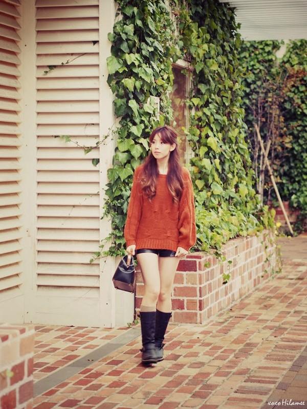 xoxo hilamee sweater shorts shoes bag
