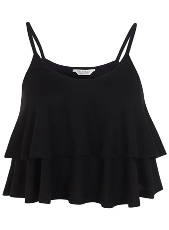 Double Layer Cami Top - Guilt Free Glamour  - Clothing - Miss Selfridge