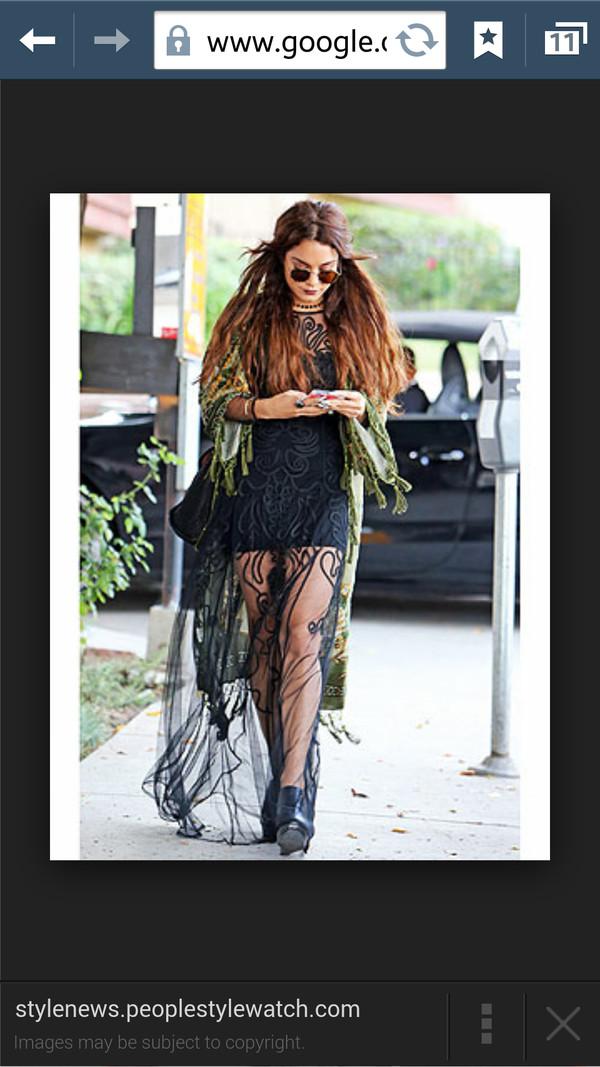 dress celebrity vanessa hudgens