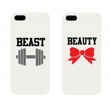 Beauty and Beast Couples Matching Cell Phone Cases for iphone 4, iphone 5, iphone 5C, Galaxy S3, Galaxy S4, Galaxy S5 on Wanelo