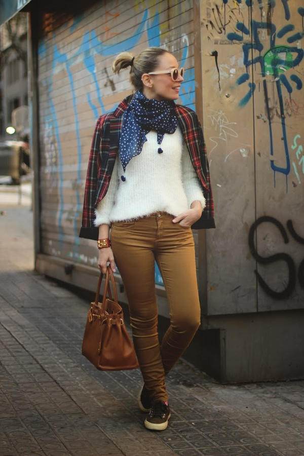 my showroom jacket sweater jeans shoes bag scarf sunglasses jewels