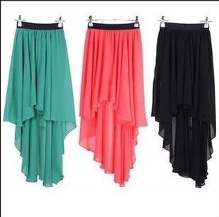 Latest design women fashion short front and long back skirts, View short front and long back skirts, other Product Details from Guangzhou Fashion Star Apparel Ltd. on Alibaba.com