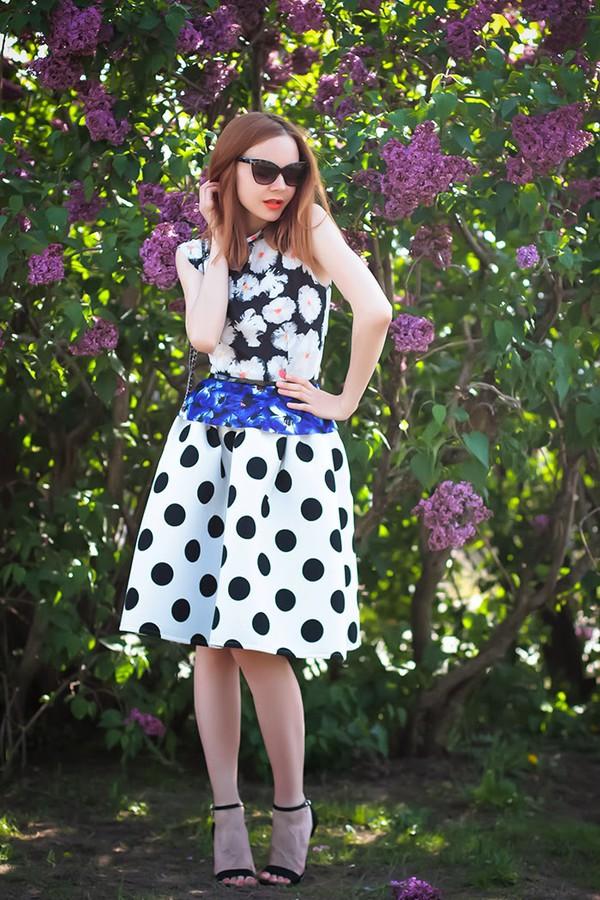 gvozdishe top skirt bag shoes sunglasses