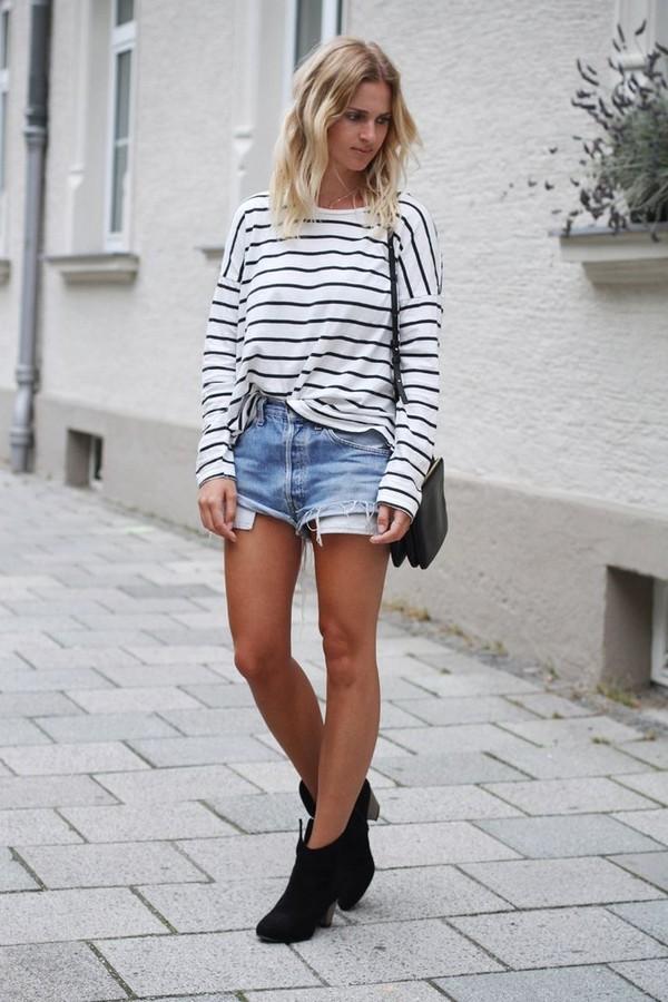 shoes clothes blouse shirt shorts