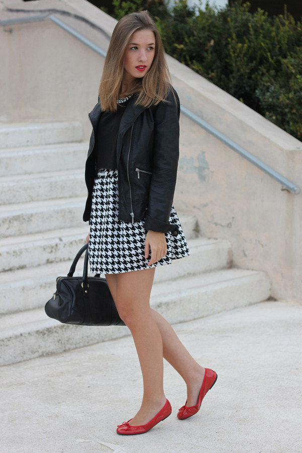 say queen jacket t-shirt skirt bag shoes