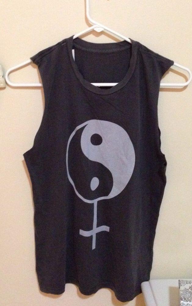 Brandy Melville Yin Yang Muscle Tee BNWT   eBay