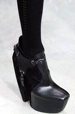 RARE Collectible Balenciaga Harness Boots Shoes Black 37 5 Fall 2006 | eBay
