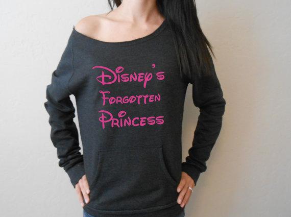 Disney's Forgotten Princess Eco Fleece by StrongGirlClothing