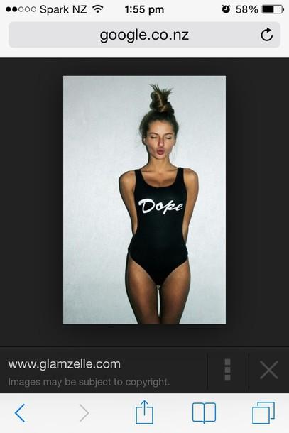 swimwear dope onepeice style