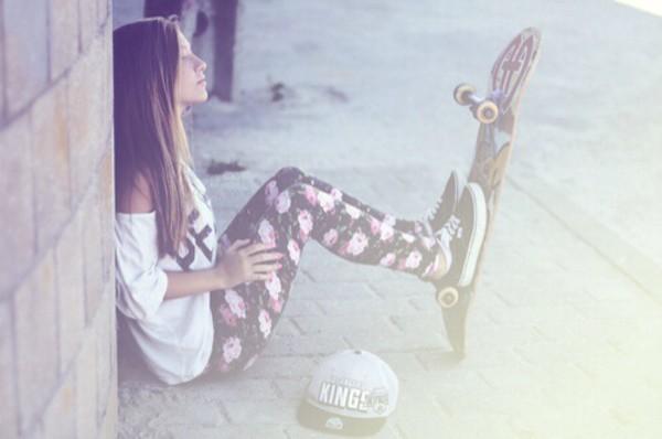 leggings floral print leggings