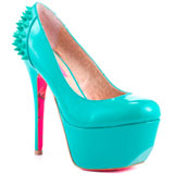 Gginger - Turquoise Pat, Betsey Johnson, 109.99, FREE 2nd Day Shipping!