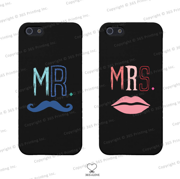 phone cover moustache mrs.lips mr and mrs mr mrs matching phone cases matching phone covers matching couples his and hers phone covers his and hers gifts wedding gifts moustache mr.mustache