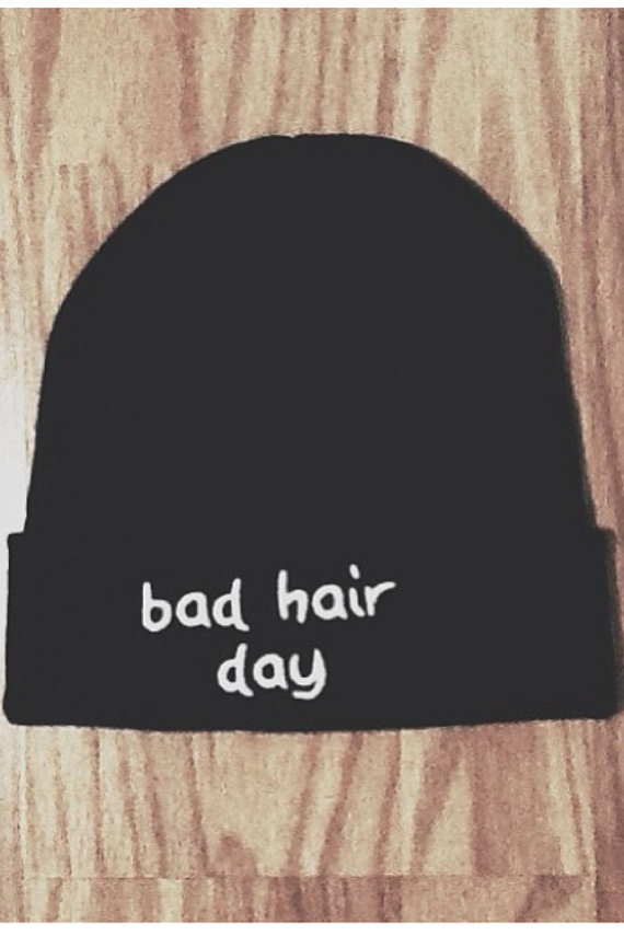 Bad Hair Day Beanie van Unique2U2 op Etsy