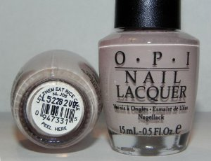 Amazon.com : OPI Let Them Eat Rice Cake NLJ05 Nail Polish : Beauty