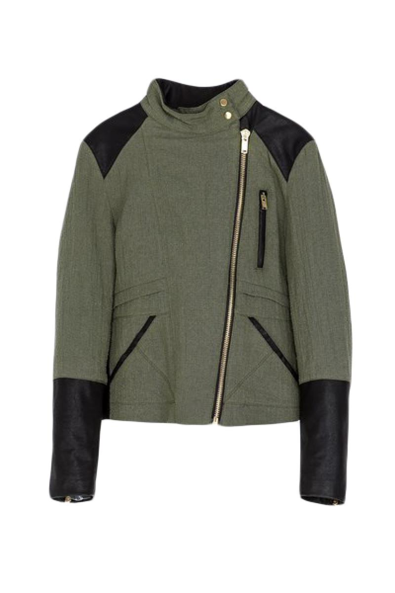 2013 Autumn & Winter New Section  Army Green Thin Jacket,Cheap in Wendybox.com
