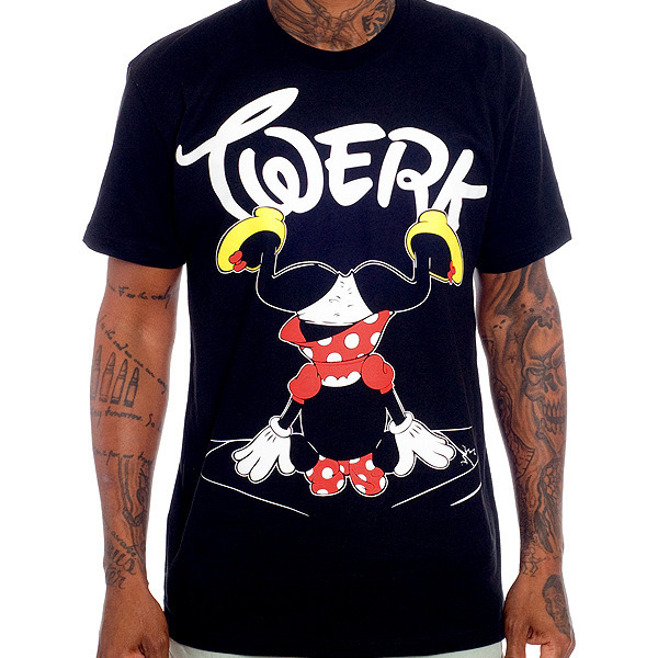 The Twerk Tee - Black / Paper Root Clothing