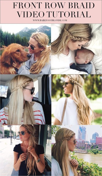 barefoot blonde blogger hairstyles blonde hair braid