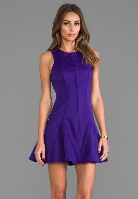 KEEPSAKE Forever Dress in Ultra Marine at Revolve Clothing - Free Shipping!
