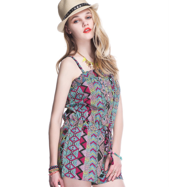 jumpsuit ethnic playsuit beach playsuit romper cute streetstyle swag pertty summer outfits