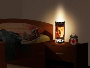 Justin Bieber Believe MY MAGIC LAMP Mini | Tischlampe: Amazon.de: Beleuchtung