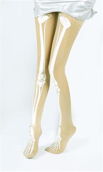 Trendy Gun Skeleton Pattern Tattoo Socks Transparent Pantyhose Stockings Tight   eBay