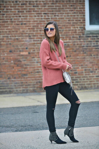 to be bright blogger sweater jeans shoes bag