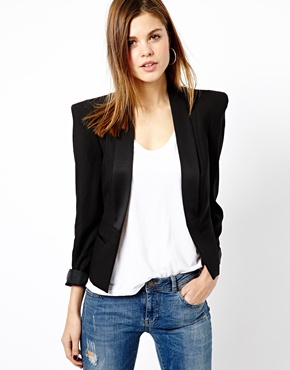 Warehouse | Warehouse Tux Jacket at ASOS
