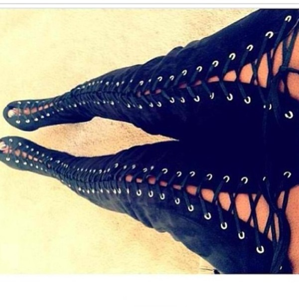 shoes knee high boots boots