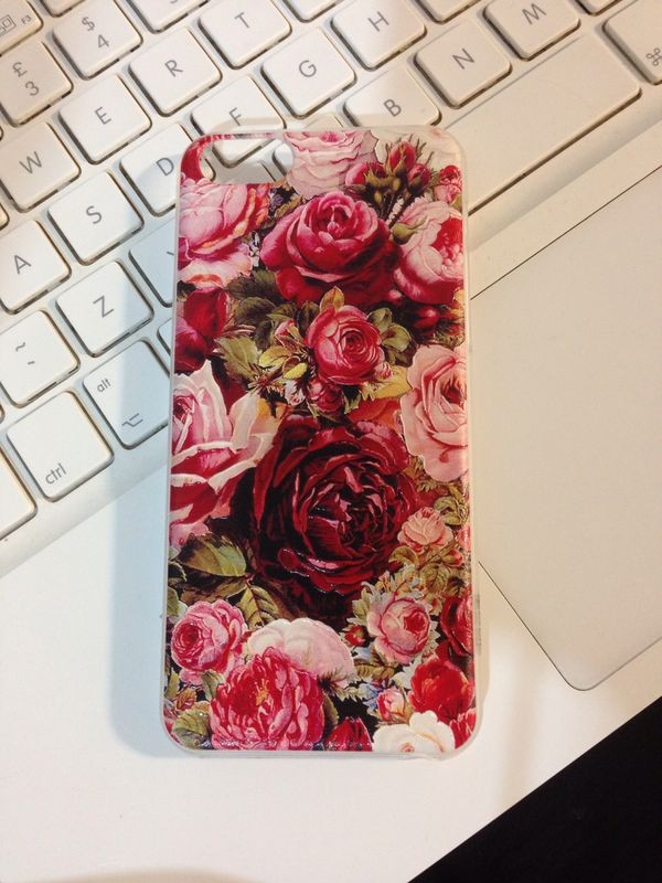 jewels iphone case iphone 5 case iphone 5 case iphone phone cover flowers roses hipster