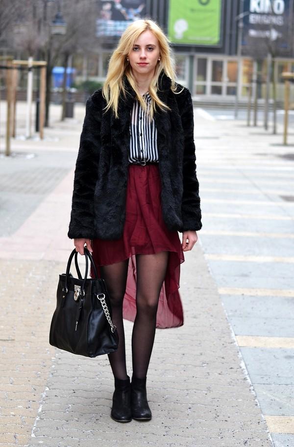 vogue haus blouse skirt shoes jewels bag