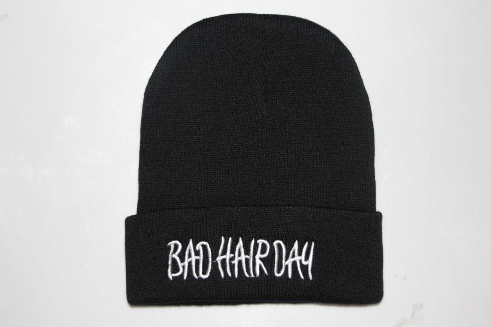 Men Girl Ustreet Knitting Beanie Street Dance Bad Hair Day Cap Hats | eBay