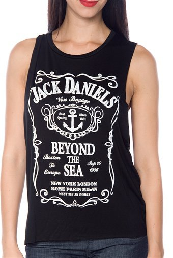 On the Rocks Beyond the Sea Muscle Tank - Black from Beachwear at Lucky 21 Lucky 21 on Wanelo