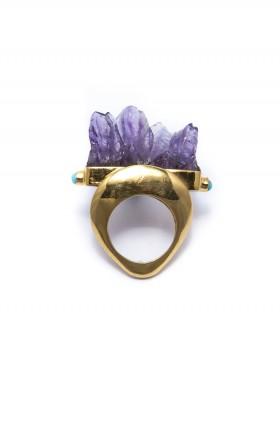 Emperor Ring by Angle Diamond Dot | The Grand Social