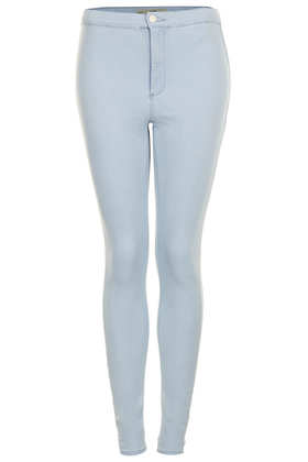 MOTO Sky Blue Joni Jeans - Denim Lightens Up   - New In  - Topshop