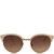 Linda Farrow Light Pink Round Acetate Sunglasses | Women's Sunglasses by Linda Farrow | Liberty.co.uk
