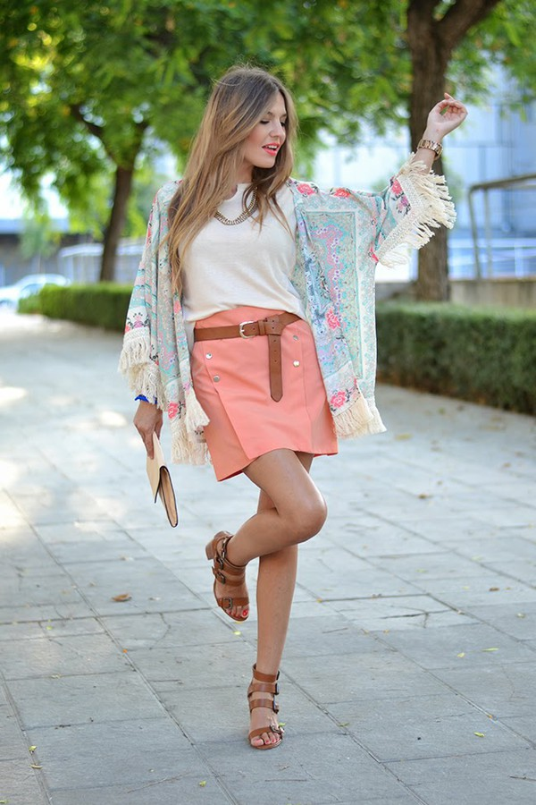 mi aventura con la moda top skirt shoes t-shirt jewels bag make-up