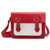ROMWE | Metal Buckles Red Bag, The Latest Street Fashion