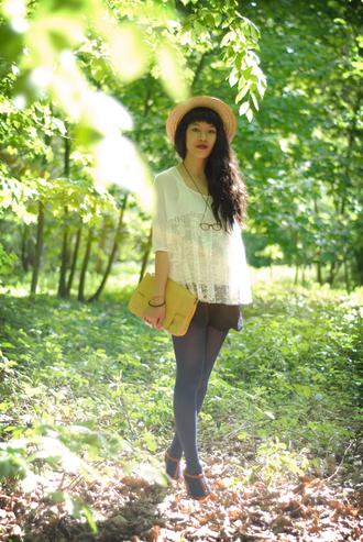 blouse leeloo white blouse