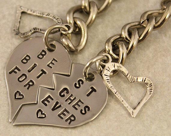 Best Bitches Forever Keychain  BFF Gift  Best by TwentySix7