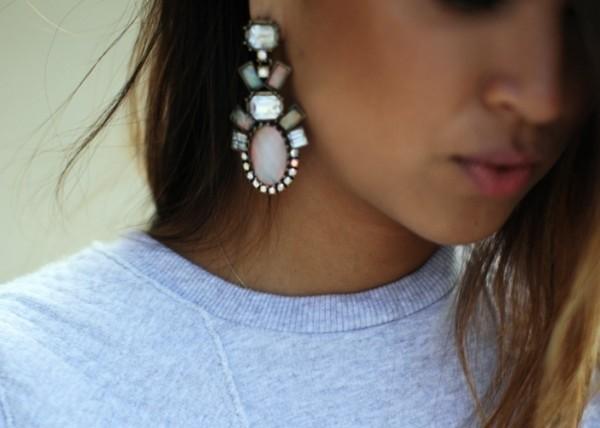 earrings jewelry fashion jewelry statement earrings gemstone statement elegant earrings pastel spring