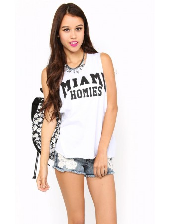 MIAMI HOMIES Muscle Tank - Tops