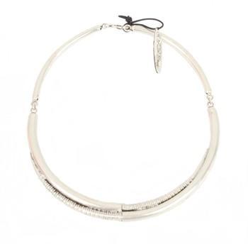 Awjila Coiled Horn Necklace by A Peace Treaty | silkstonewood