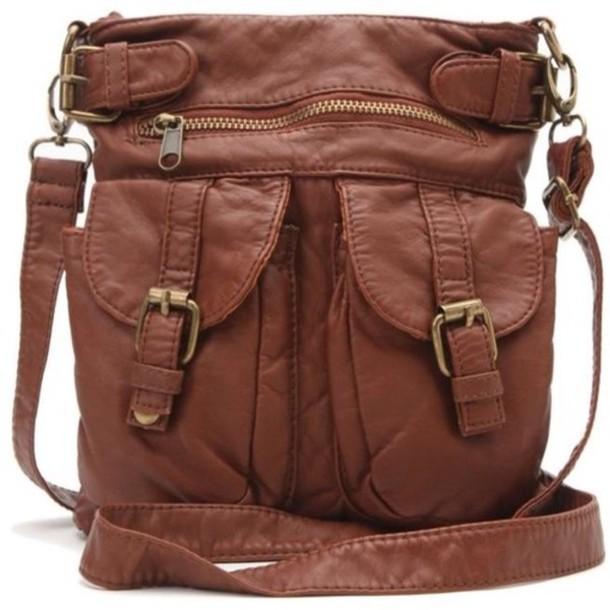 Perfect bag, brown shoulder bag - Wheretoget TB86