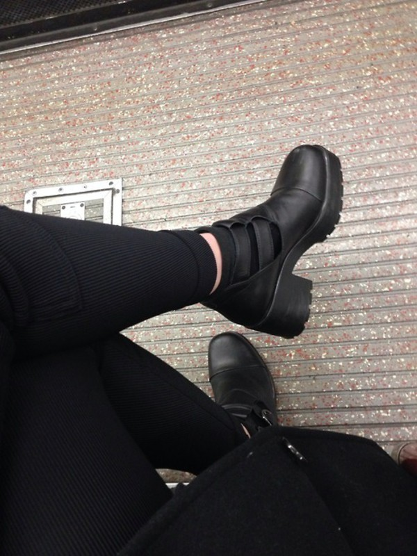 shoes pants black grunge