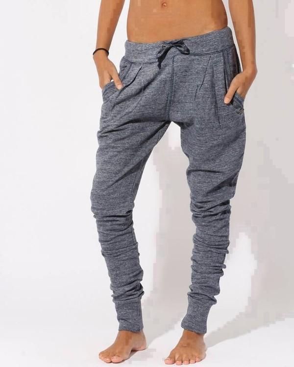 pants grey blouse
