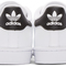 Adidas originals - white & black superstar sneakers