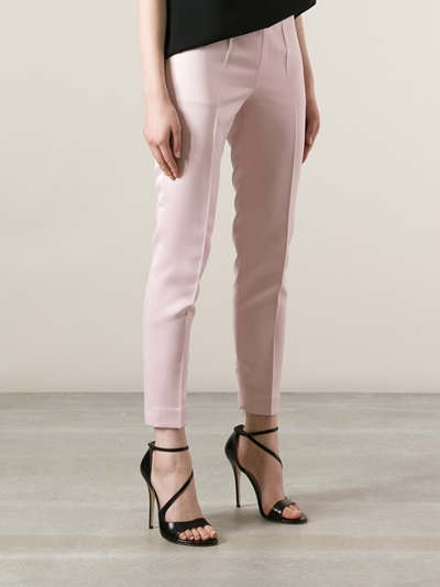 Red Valentino Cropped Trouser - Twist'n'scout-paleari Online Store - Farfetch.com
