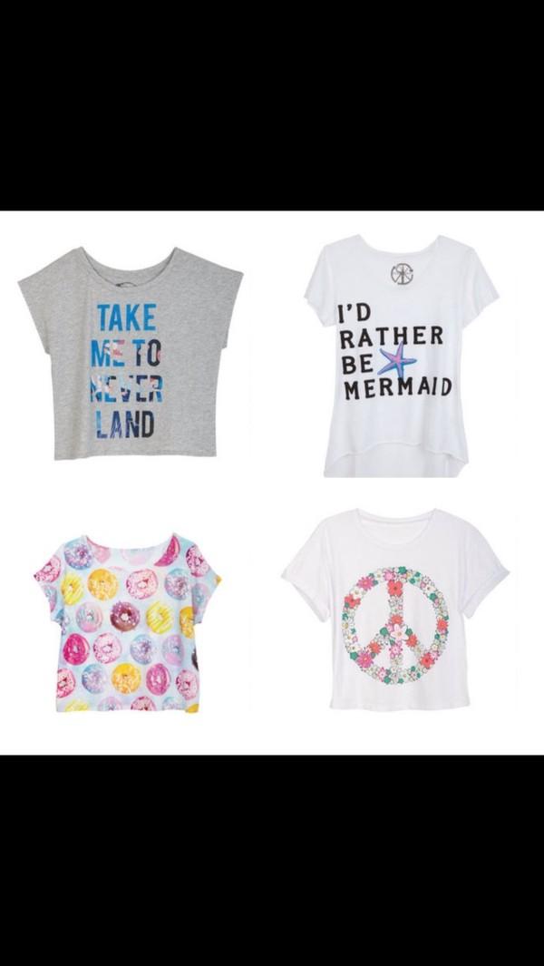 shirt mermaid the little mermaid donut