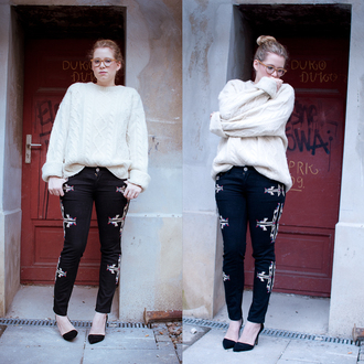 navajo isabel marant pants embroidered jeans
