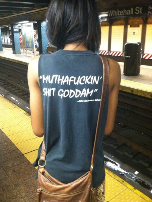 shirt quote on it singlet black singlet swearing funny funny quote shirt black bag